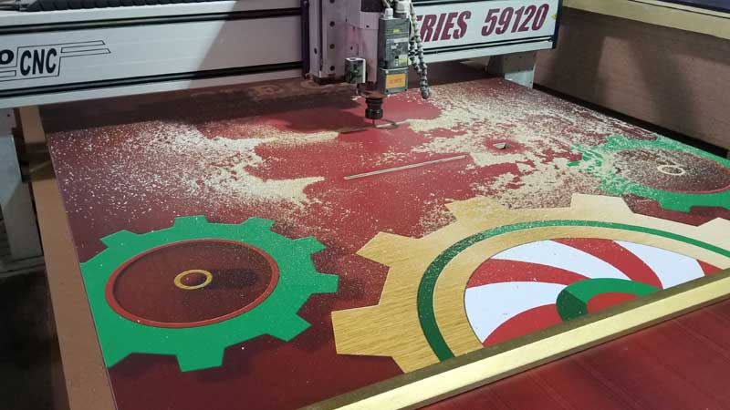 CNC cutting and routing services