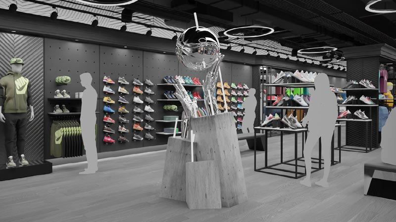 Scenic design company for retail stores