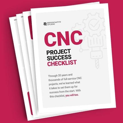 CNC Project Success Checklist